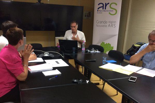 L'ARS et le Corevih, représentant les associations menacées, se sont rencontrés ce lundi 28 août 2017.