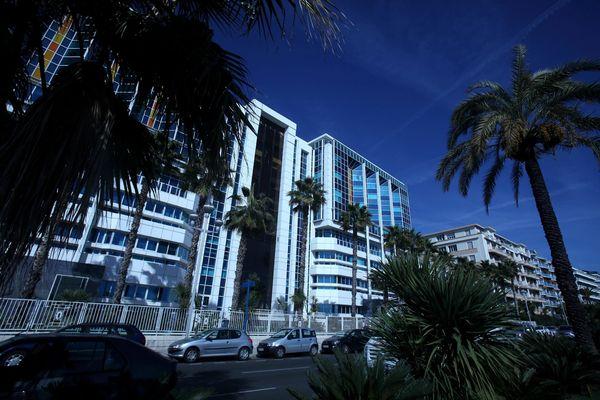 L'hôpital Lenval à Nice (Alpes-Maritimes).