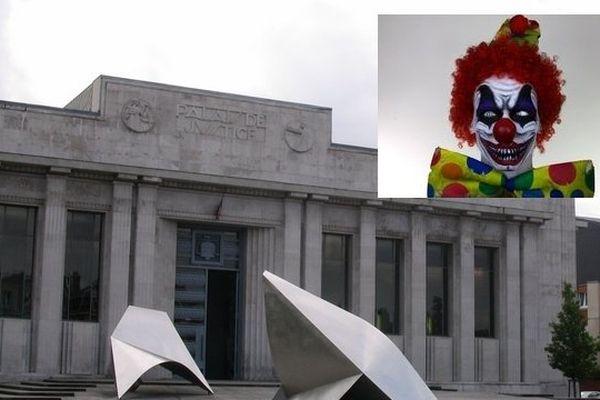 Le tribunal de Béthune. Clown : image d'illustration.