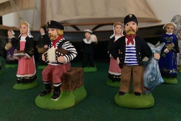 Parés pour la crèche à la mode bretonne