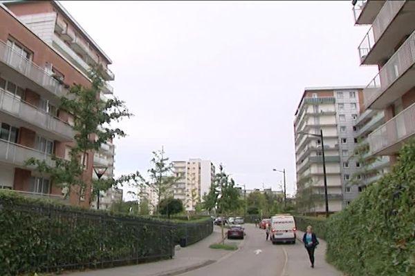 Le quartier du Mont Gaillard au Havre