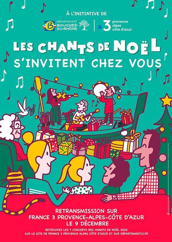 Pour remplacer les 68 rendez-vous avec le public initialement programmés, 7 grands concerts de Noël seront enregistrés à huis clos à Saint-Martin-de-Crau.