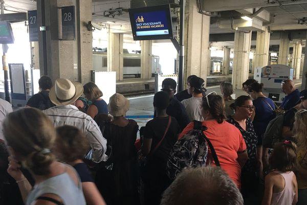 La gare Montparnasse vendredi 27 juillet 2018