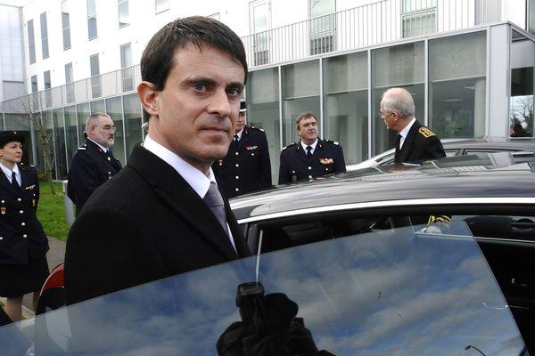 Manuel Valls à St Nazaire, lundi 19 novembre