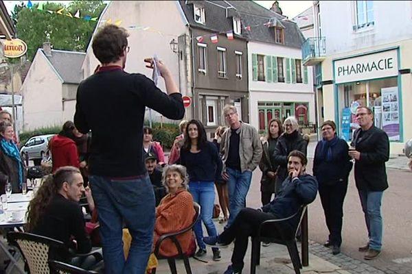 A Lormes dans le Morvan, les Lormois jouent un spectacle sur la mémoire de leur village