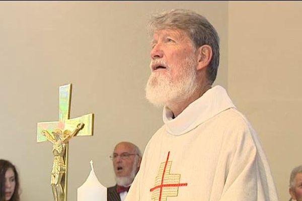 Une messe a eu lieu dimanche à Truchtersheim en sa présence