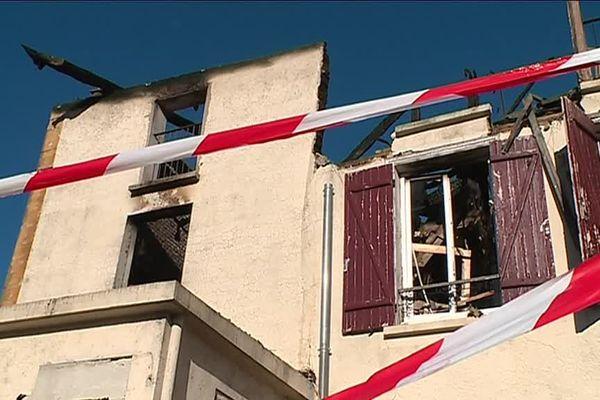 L'immeuble a été ravagé par les flammes vendredi 15 février 2019 au petit matin.