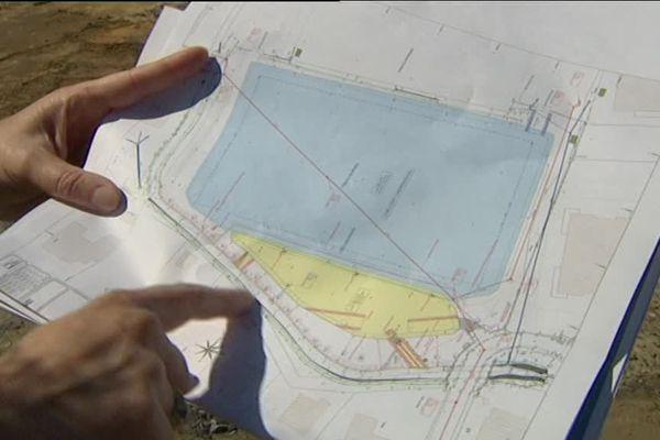 Le bassin servira aussi de terrain sportif par temps sec