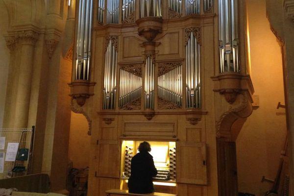 L'orgue de Charolles, installé dans l'église Sainte-Croix, inauguré les 2 et 3 juillet 2016.