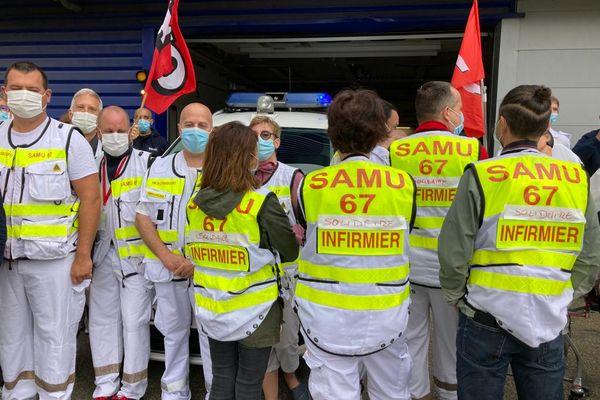 Les ambulanciers ont déposés aujourd'hui un dépôt de grève avec une durée illimitée.