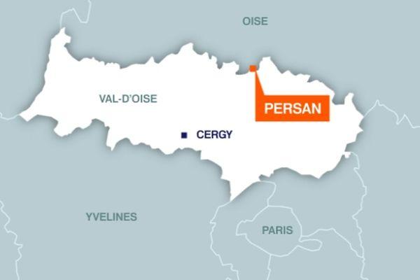 Persan, dans le Val d'Oise.