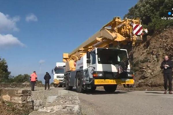 Les premiers éléments du chantier ont été installés, ce mercredi 28 février.