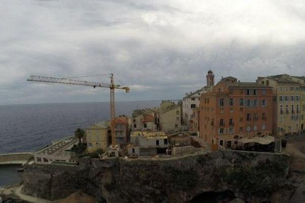 Un hôtel 4 étoiles est en train d'être construit à la citadelle de Bastia