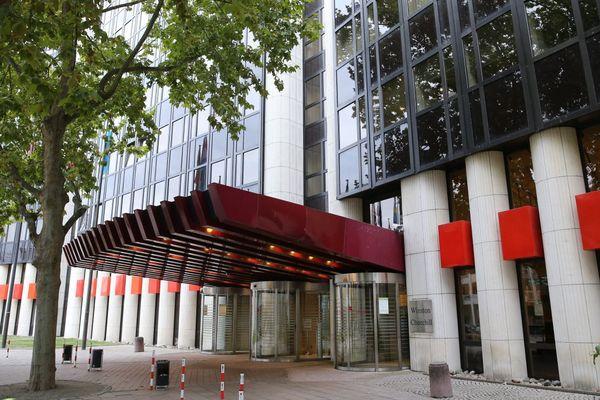 Bâtiment IPE1 Winston Churchill du Parlement Européen à Strasbourg
