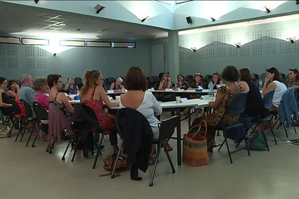 Une femme sur 4 est victime de violences sexuelles ! Comment écouter et accompagner les victimes ? Une formation était proposée ce week end à Narbonne.  Pauline Pidoux et Caroline Agullo