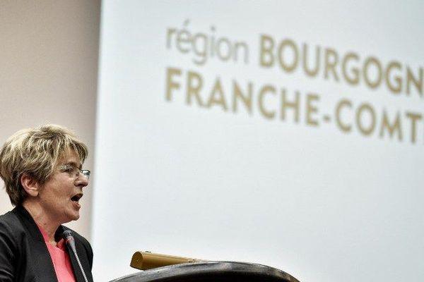 Marie-Guite Dufay, présidente PS de la région Bourgogne-Franche-Comté