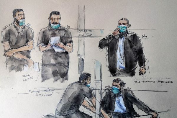 Le procès a débuté début mars le devant la cour d'Assises spéciale de Paris.