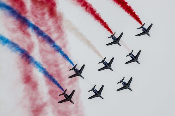La Patrouille de France sera en démonstration complète à Gap Tallard samedi.