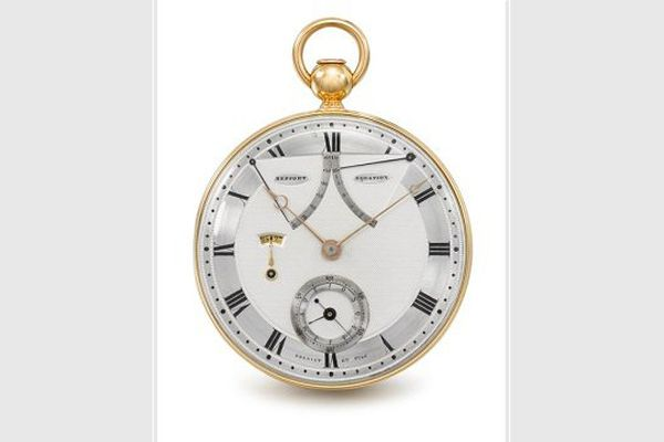 La montre a appartenu à Charles-Louis Havas, le fondateur de l'agence Havas, ancêtre de l'AFP.