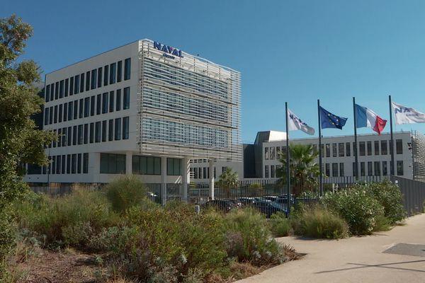 Naval Group est implanté sur trois sites dans le Var à Toulon, Ollioules et Saint-Tropez.
