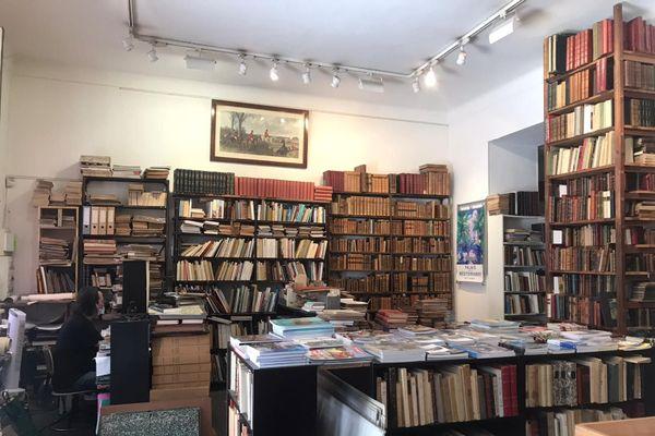 Thierry Desouche a repris la Librairie niçoise en 2004.