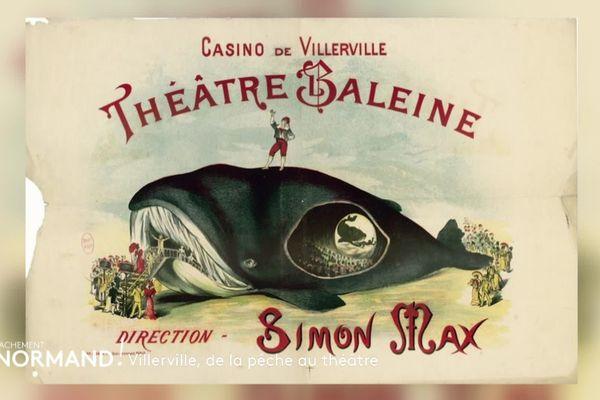 Le théâtre-baleine de Villerville