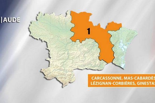 Législatives - Aude 1ère circonscription