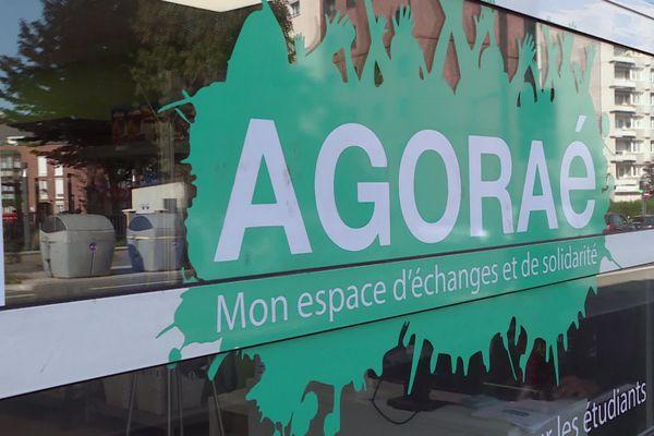 À Amiens, l'épicerie solidaire l'AGORAé permet aux étudiants précaires de faire leurs courses à peu de frais.