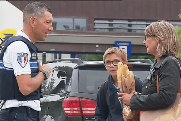 Un des deux policiers municipaux de Pordic