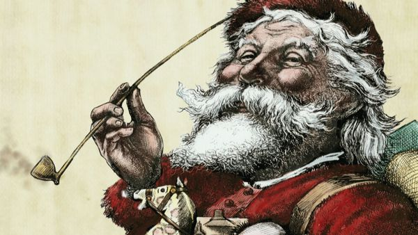 Illustration de Santa Claus par Thomas Nast