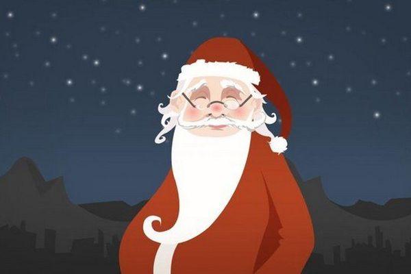 Le père Noël : Comme en témoigne ma longue barbe blanche, je ne suis plus tout jeune. Cette année, je fête mes 190 ans.