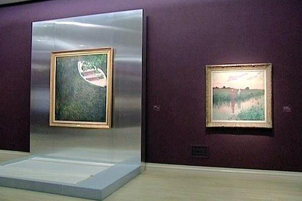 """Une visite tactile est organisée au musée des Beaux-Arts de Rouen pour l'exposition """"Eblouissants Reflets""""."""