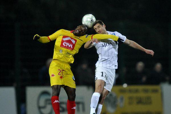Orléans et Châteauroux ont fait match nul (2-2) ce vendredi soir.