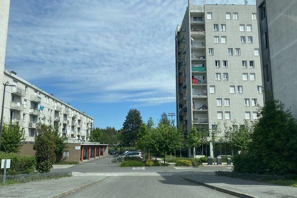 Le quartier de l'Ousse des bois à Pau
