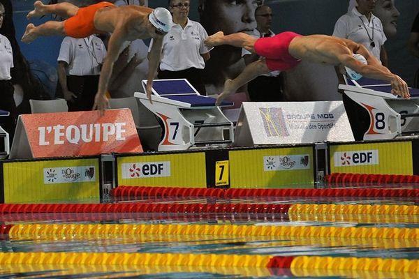 Thomas Rabeisen et William Debourges au 50m brasse
