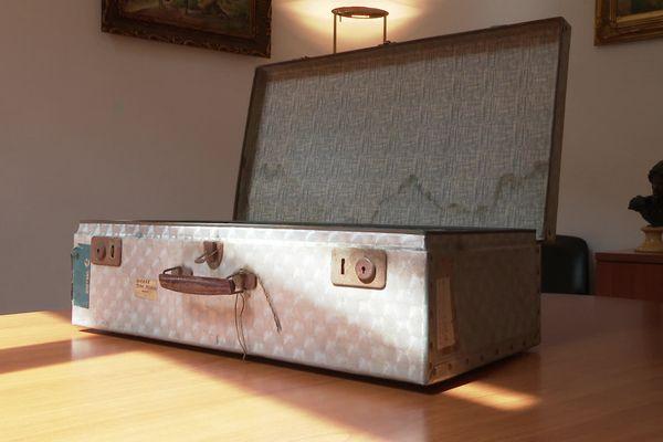 La valise secrète de Jean Moulin a été donnée à la ville de Béziers - avril 2021.