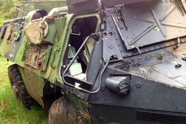 Le blindé accidenté appartient à l'école d'infanterie de Draguignan
