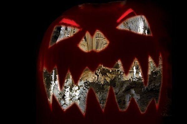 Halloween dans les grottes de la Clamouse