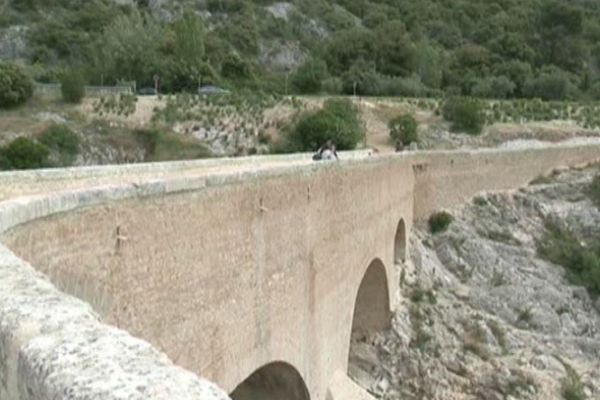 le pont du Diable en 2011
