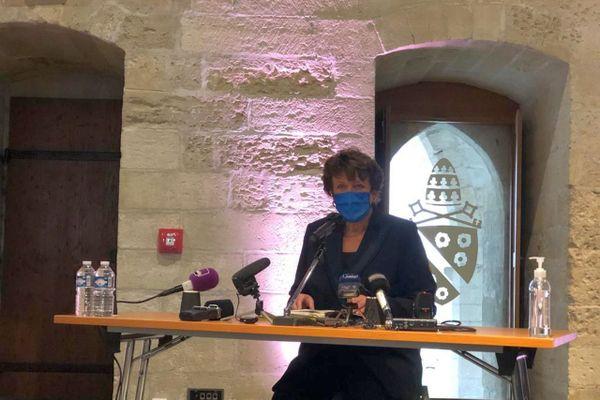 Roselyne Bachelot la ministre de la culture était à Avignon pour les états généraux des festivals.