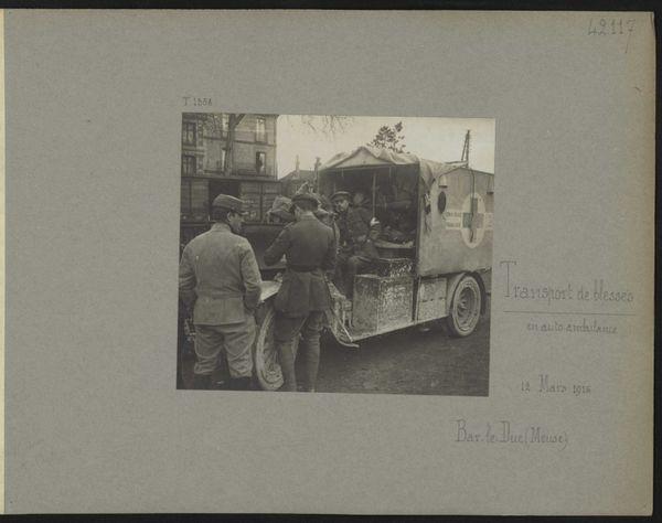 Une ambulance sur le front en 1916 à Bar-le-Duc