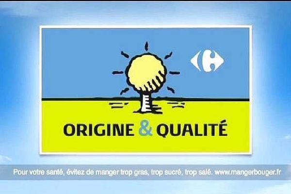 Le Logo de Carrefour retiré
