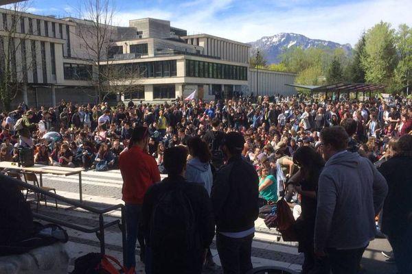 Le campus de Grenoble a vécu durant plusieurs semaines à l'heure des assemblées générales