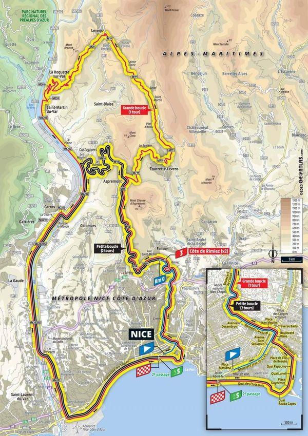 Départ samedi 29 août à 14h de Nice pour le Tour de France 2020