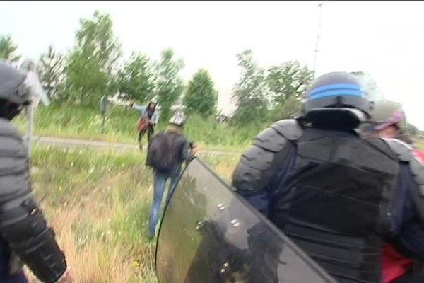 Des journalistes ont été pris à partie par la police début juin 2016