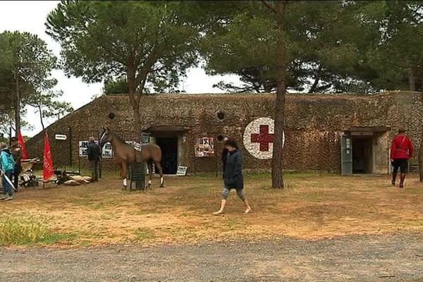 Le blockhaus allemand de la Tamarissière, à Agde, servait d'infirmerie militaire durant la Seconde Guerre Mondiale