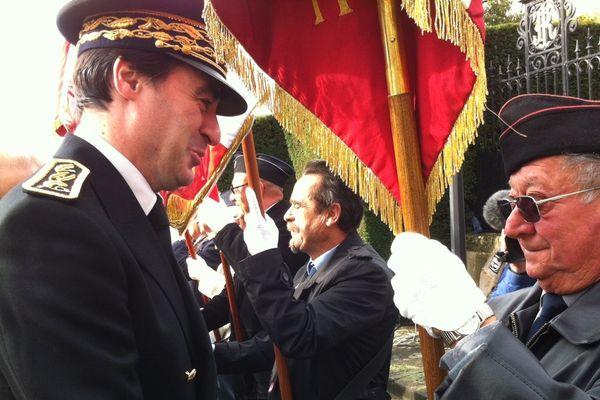 Prise de fonction du nouveau préfet de l'Indre, Alain Espinasse.