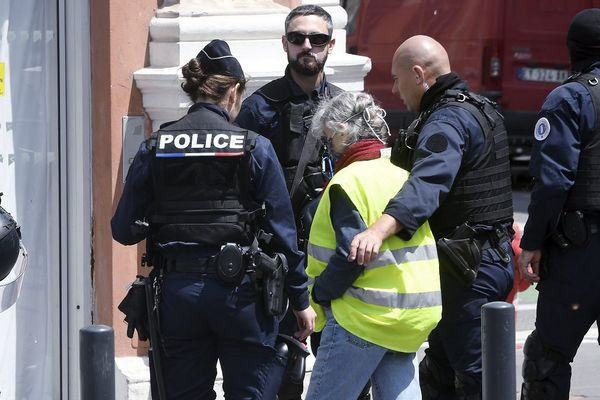 Un des derniers rassemblements des Gilets jaunes, à Toulouse, le 14 mars 2020.