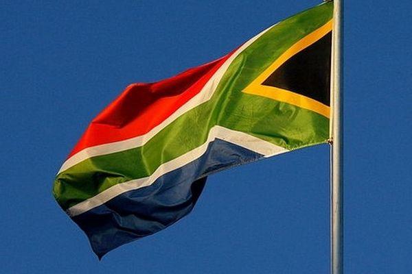 Le drapeau de l'Afrique du Sud, où va se dérouler la CAN 2013.