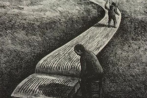 Un dessin de Roland Topor.
